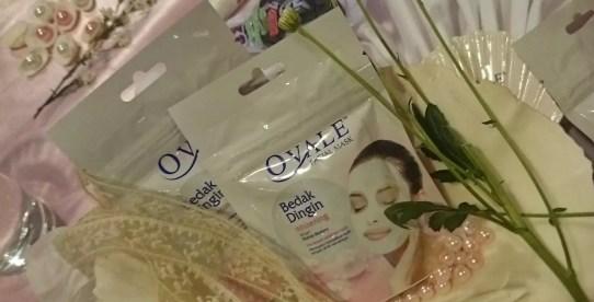 Ovale Masker Bedak Dingin Ekstrak Mutiara -by Sari Novita