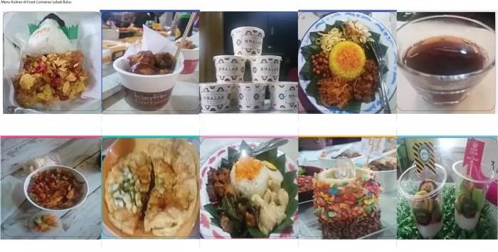 Ragam Kuliner Food Container Lebak Bulus