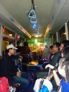 Pulangnya nyobaiin Shuttle Bus SDC
