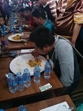 Ronald Pemenang Kedua Wagyu Eating Competetion