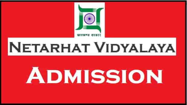 Netarhat-Vidyalaya-Admission-Online-Form