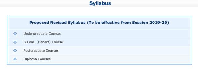 CSJMU Syllabus 3