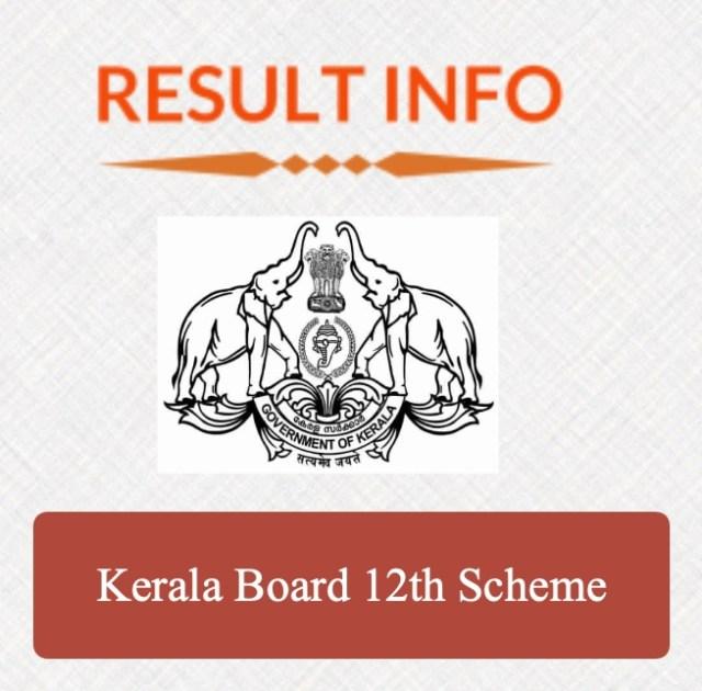 Kerala Board 12th Scheme 1
