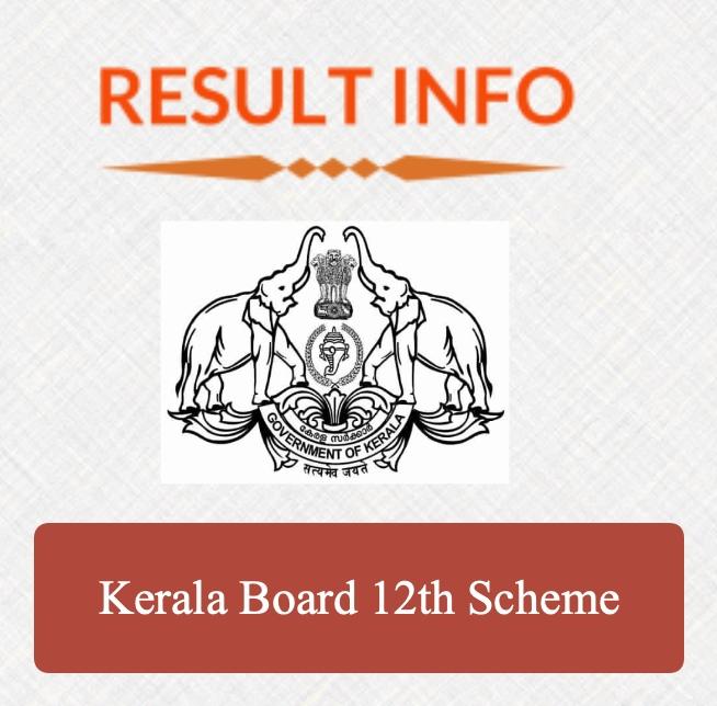 Kerala Board 12th Scheme