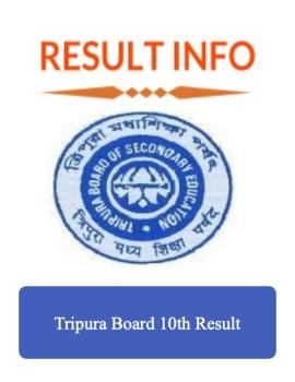 Tripura Board 10th Result