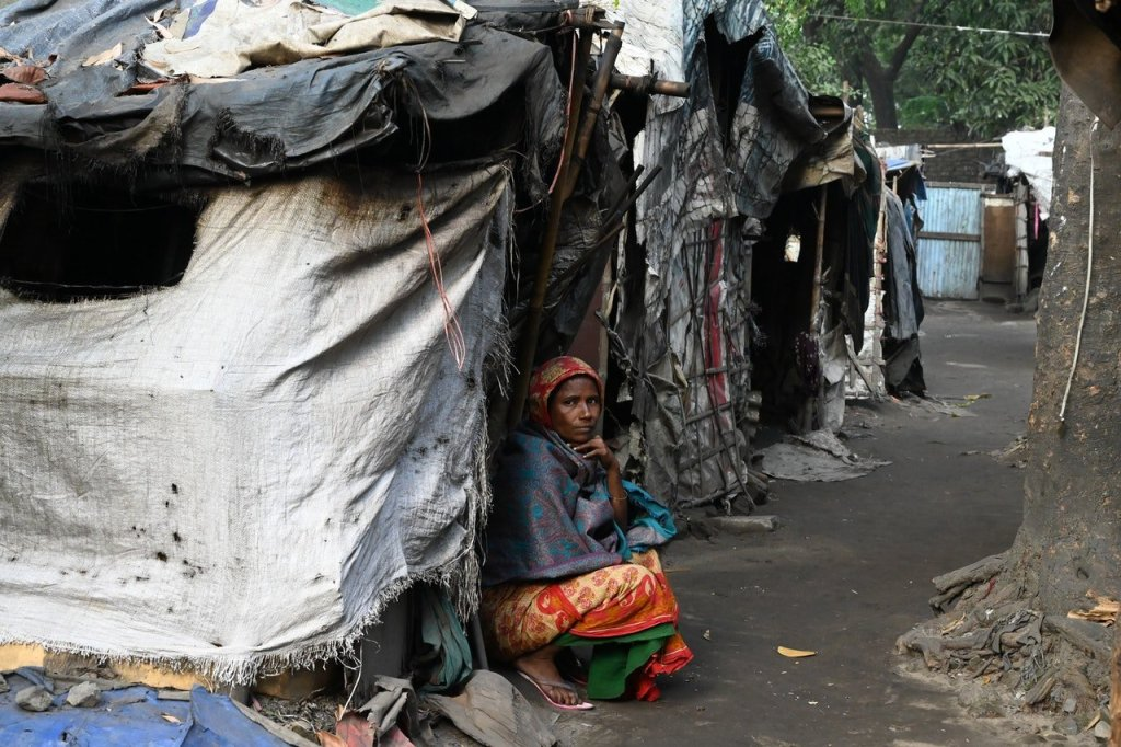 Poverty in India, घीसू का चरित्र चित्रण