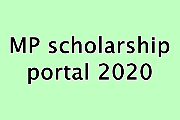 How to check registration E-KYC application status in MP Scholarship Portal 2020