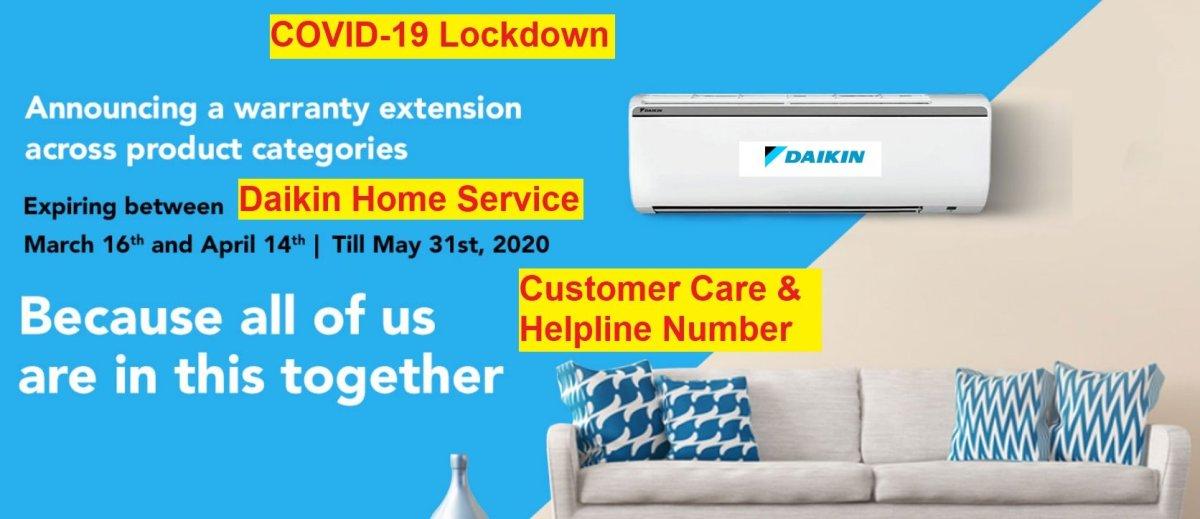 daikin home service customer care