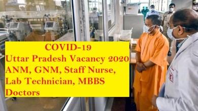 up covid-19 vacancy 2020