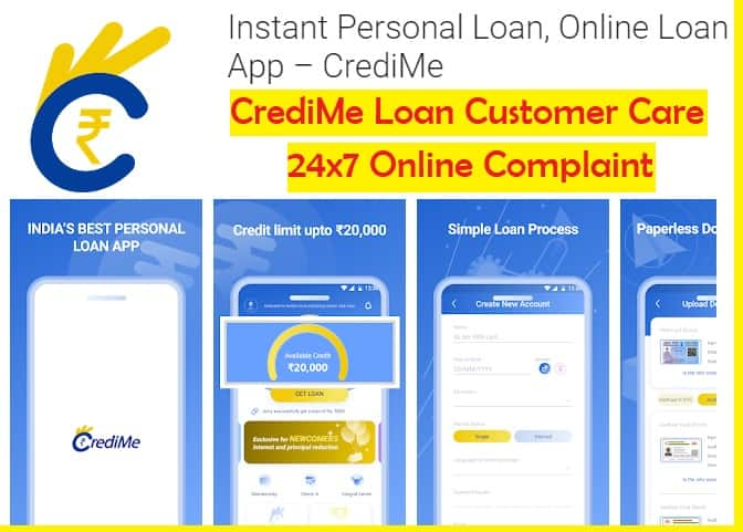 CrediMe Loan App Customer Care Helpdesk