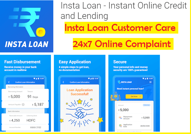Insta Loan Customer Care Helpdesk