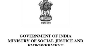 Ministry Of Social Justice And Empowerment Recruitment 2018-2019