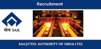 Steel Authority of India Limited (SAIL)Jobsfor Senior Registrar, Registrar and Resident House Officer Post| Walk-in-Interview