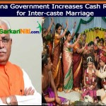 Haryana Government Increases Cash Reward for Inter-caste Marriage