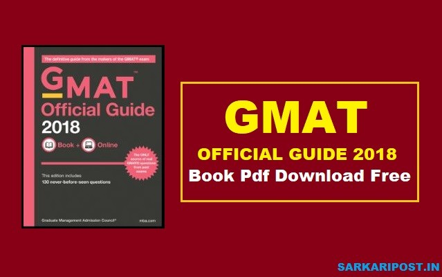 GMAT Official Guide 2018 Book