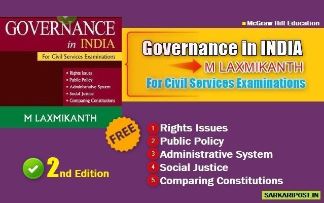 Governance in India Book Pdf by Laxmikanth