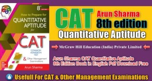 Arun Sharma Quantitative Aptitude 8th Edition Book