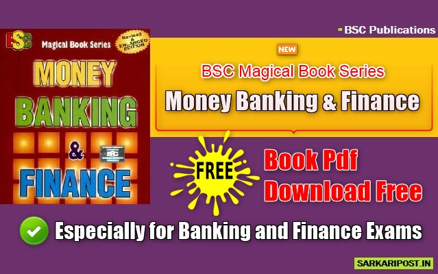 BSC Money Banking and Finance Pdf Book