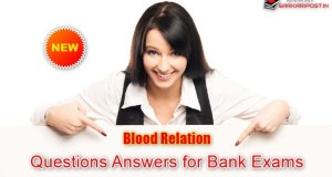 Blood Relation Questions Answers