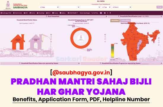 Pradhan-Mantri-Sahaj-Bijli-Har-Ghar-Yojana