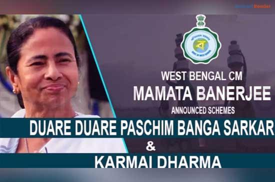 WB-Duare-Duare-Paschim-Banga-Sarkar-Scheme-and-Karmai-Dharma