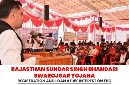 Rajasthan-Sundar-Singh-Bhandari-Swarojgar-Yojana