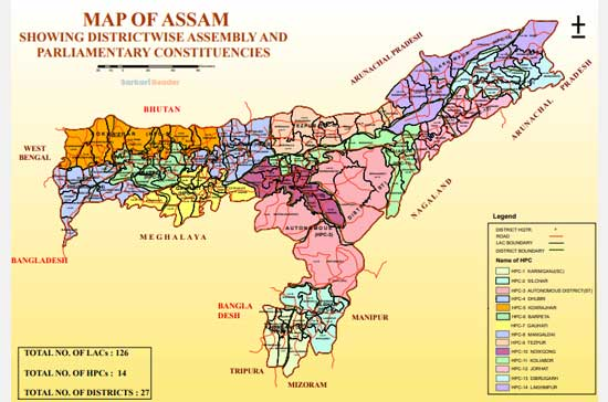 CEO-Assam-Voter-List-state-map-showing-PCs-and-ACs