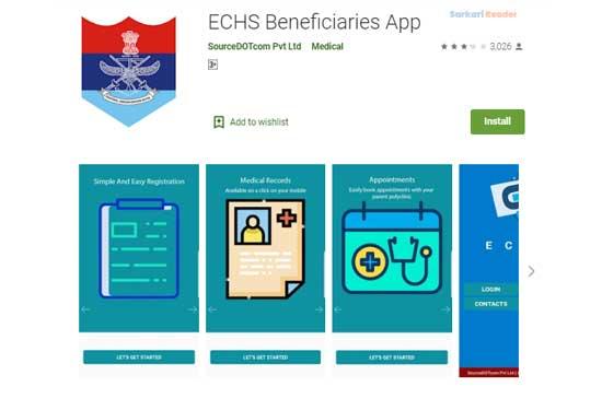 ECHS-Beneficiaries-App