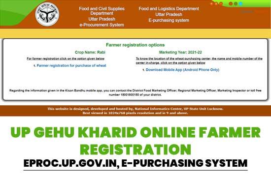 UP-Gehu-Kharid-Online-Farmer-Registration-eproc.up.gov.in-e-purchasing-system