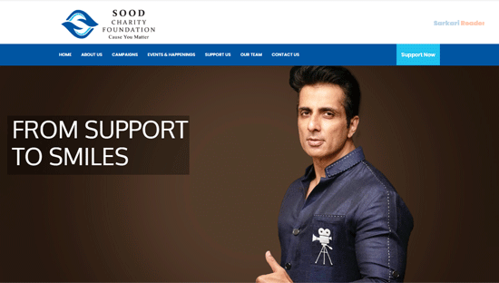 sood-charity-foundation-website