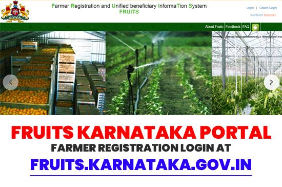 Fruits-Karnataka-Portal-Farmer-Registration
