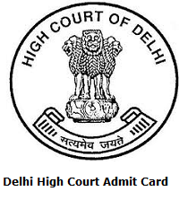 Delhi High Court Private Secretary, Administrative Officer