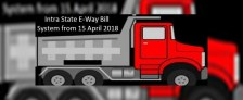 Intra-State E-Way Bill System in AP, Kerala, Gujarat, Telangana & UP (15 April 2018)