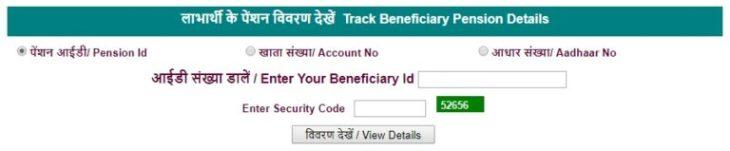 Track Haryana Budhapa Pension Status