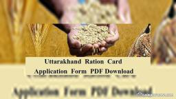 Uttarakhand Ration Card Online Application Form Download [Apply @ fcs.uk.gov.in]