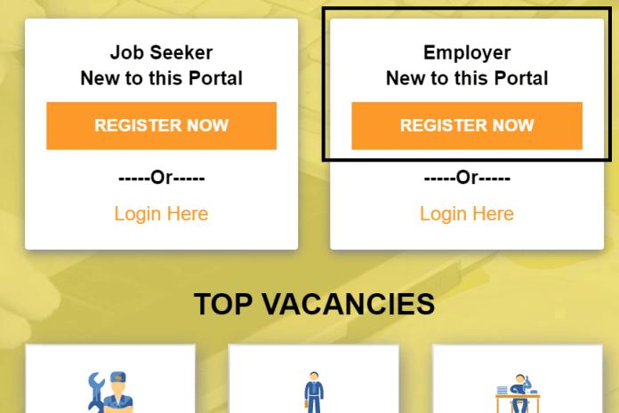 Madhya Pradesh Employer Panjikaran Mprojgar Gov Portal