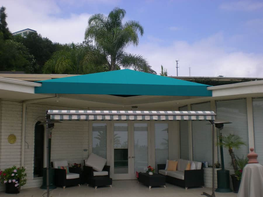 Custom Shape Awning