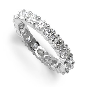 Eternity ladies ring