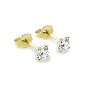 Diamond Stud earrings -1-2