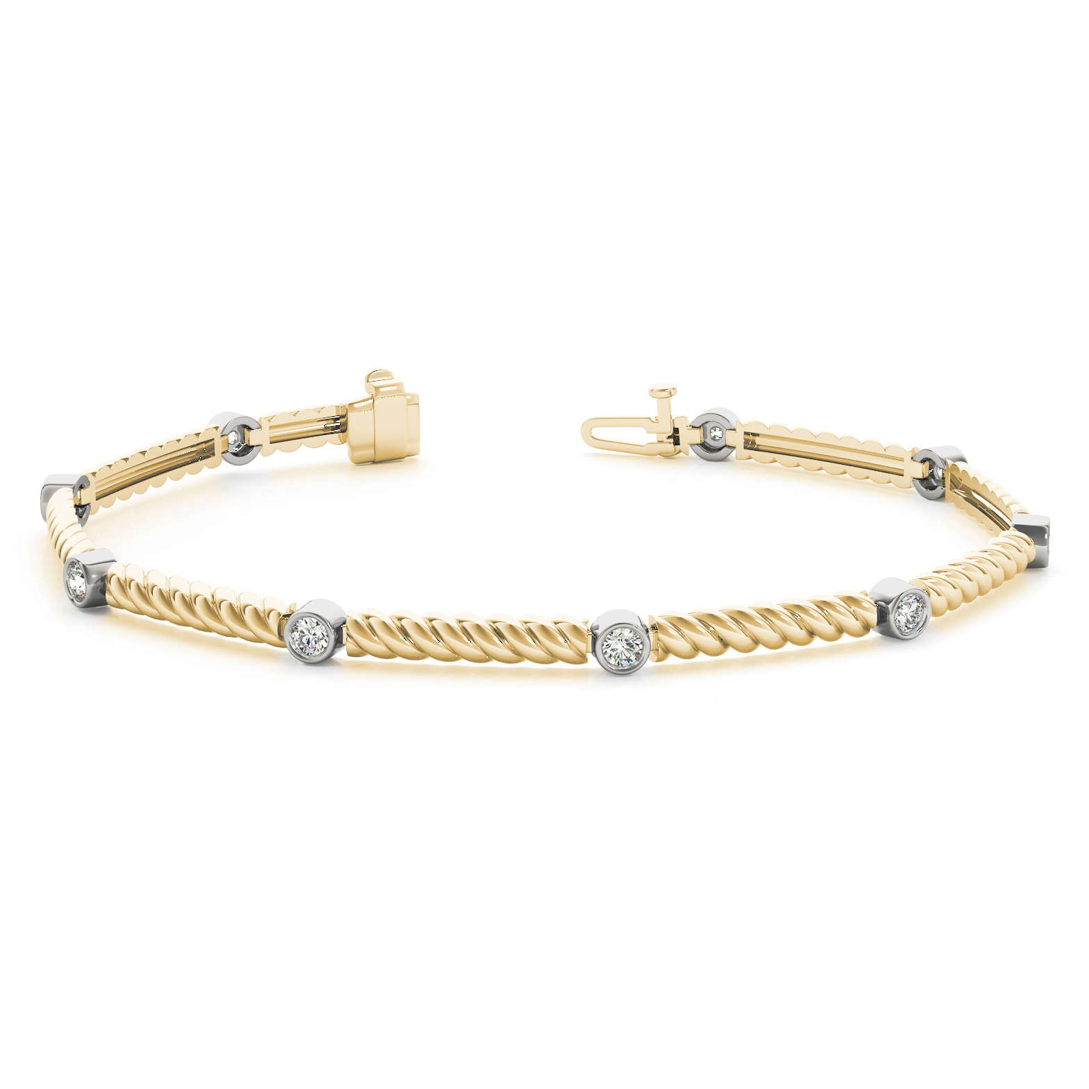 bracelet gold bracelets diamond lush engraved and pin