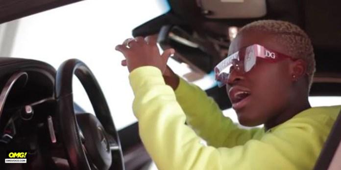 Ghana Police Escorts Fela Makafui As She Swerves Traffic In Town - Watch Video
