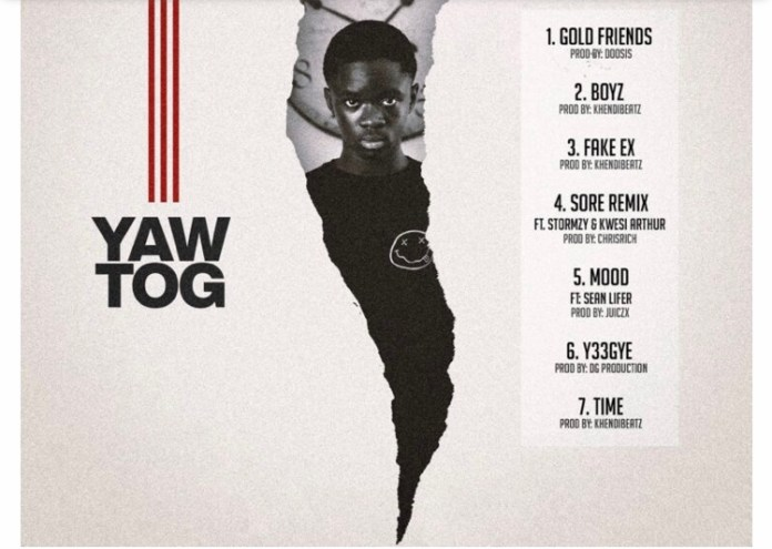 Download MP3: Yaw Tog –Gold Friends (Prod. by Doosis)