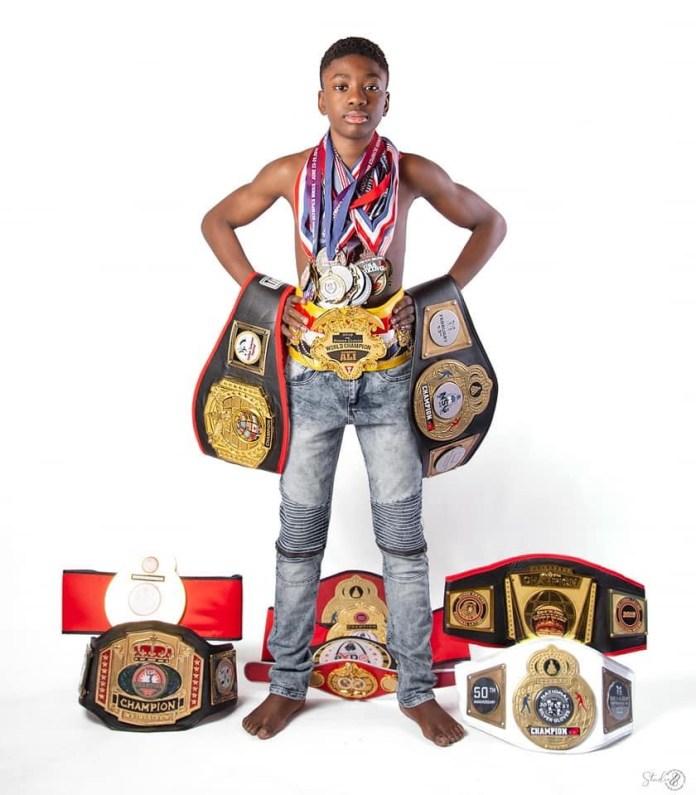Joseph Awinongya Jr: A 13-year-old Boxer