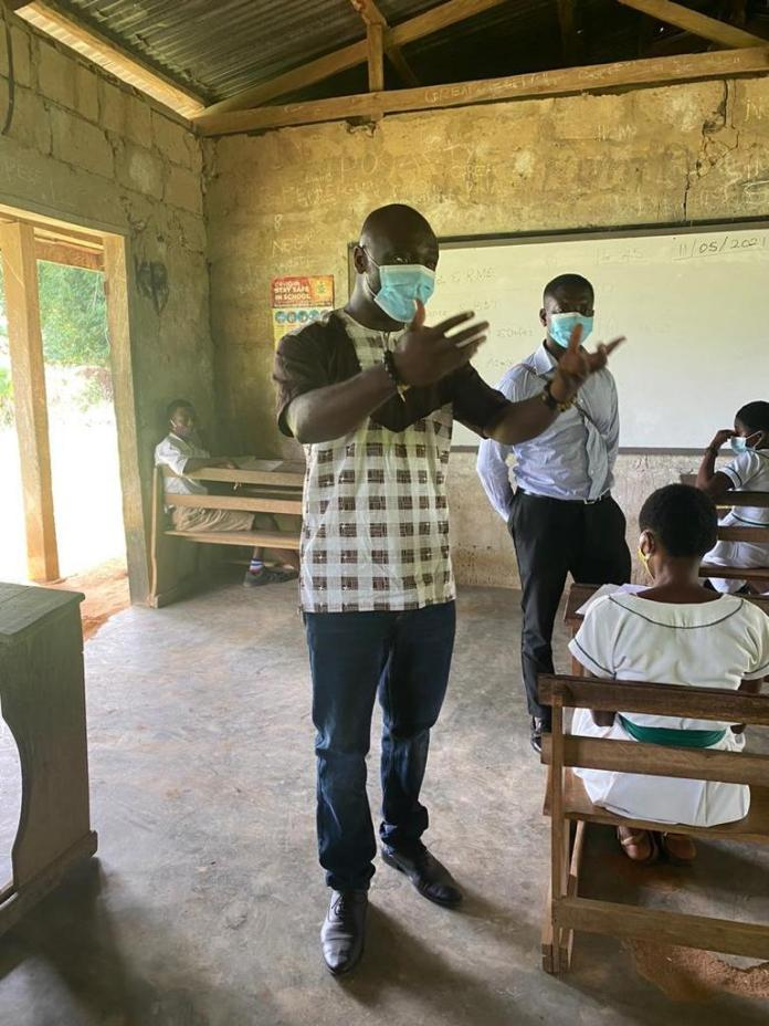 Asante Akyem Municipality: RoyalAid Foundation organizes Mock exams for BECE final year students.