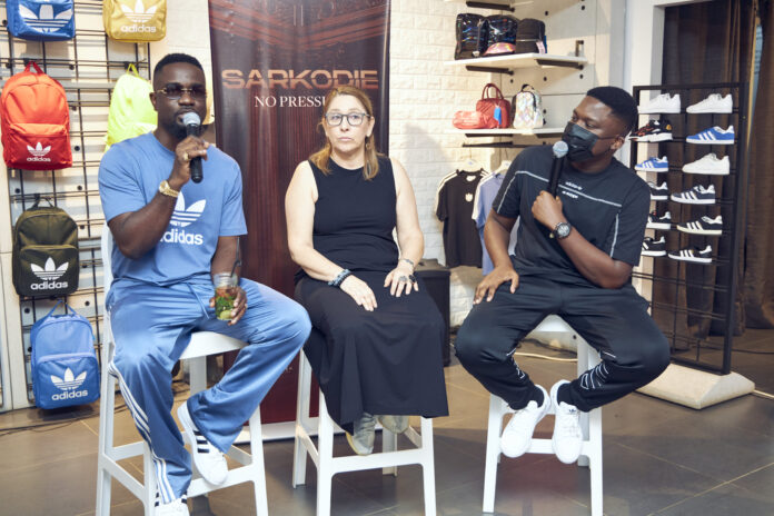 Sarkodie & Adidas Partner To Project Africa's Creative Economy