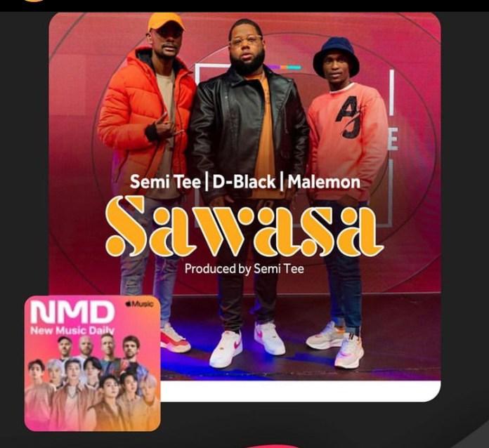 D-Black - Sawasa ft Semi Tee x Malemon (Prod by Semi Tee)
