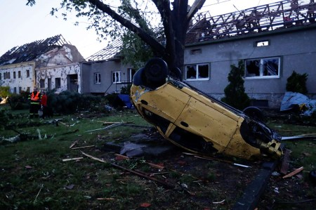 'I Saw a Car Fly, and Dogs Flying': Rare Tornado Rips through Southern Czech Republic, Killing Five People