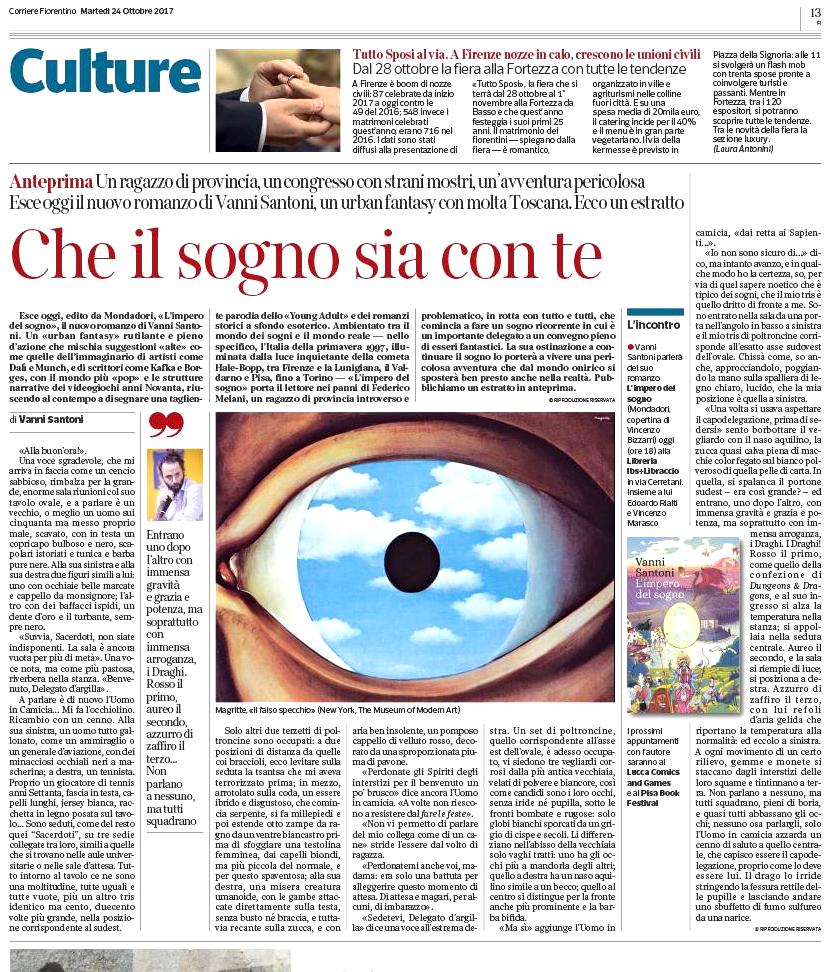 ... prima parte sul Corriere Fiorentino bfab9625991