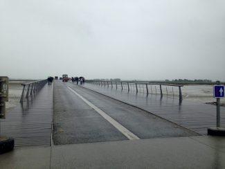 NO LONGER A CAUSEWAY - NOW A BRIDGE