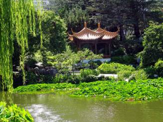 A SECLUDED PAVILION